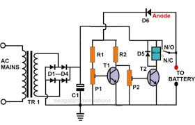 High Current Lead Acid Battery Charger Circuit on usb car charger schematic, lead acid cell diagram, charger circuit schematic, nimh charger schematic, solar cell charger schematic, nicad charger schematic, wireless charger schematic, cell phone charger schematic, inverter charger schematic, club car charger schematic,