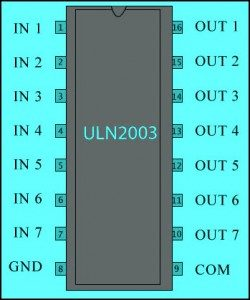Automatic Change Over by Relay Driver IC UNL2003 With Circuit Diagram