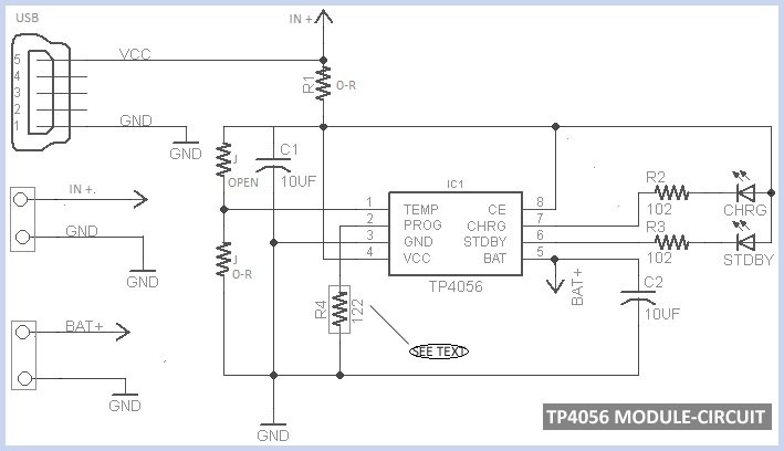 tp4056 micro usb battery charger circuit diagram rh circuit diagramz com usb charger schematic diagram usb pinout diagram