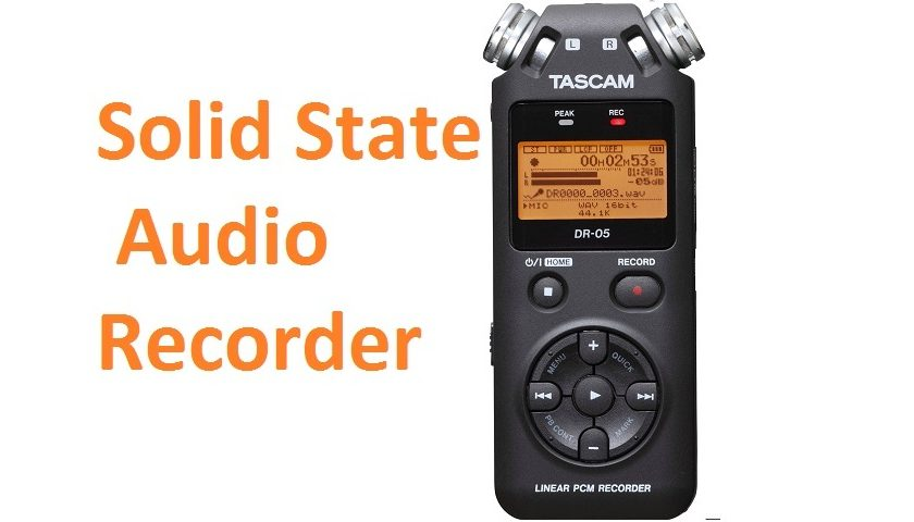 Solid State Audio Recorder
