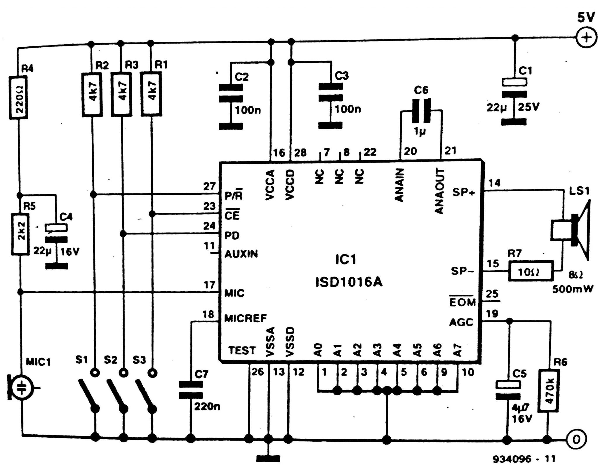 solid state audio recorder circuit diagram rh circuit diagramz com Samsung HDTV Schematics Diagram Simple Schematic Diagram