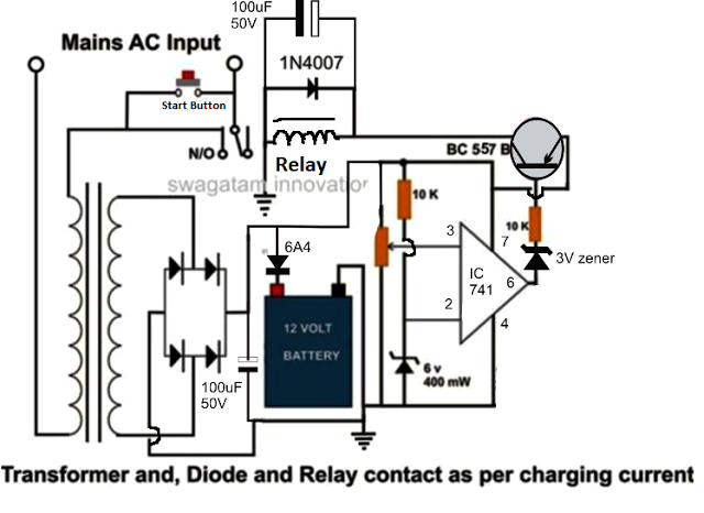 high current battery charger circuit