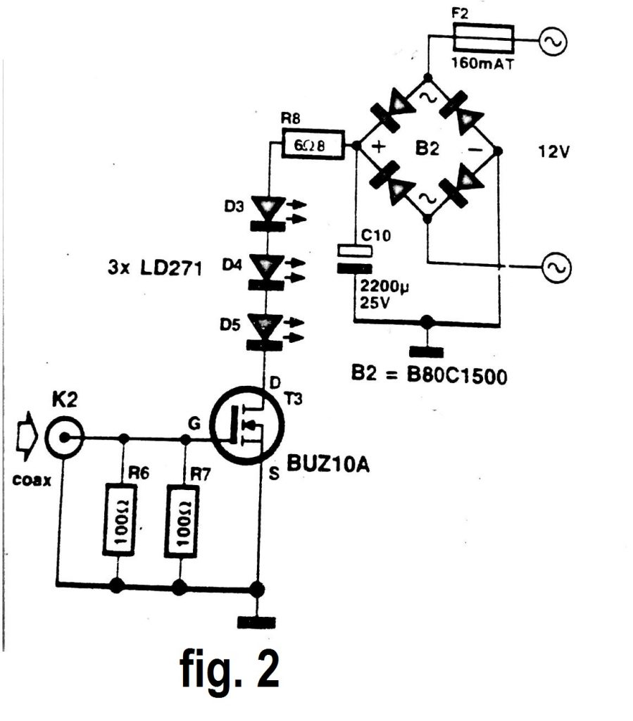 infrared signal repeater circuit diagram