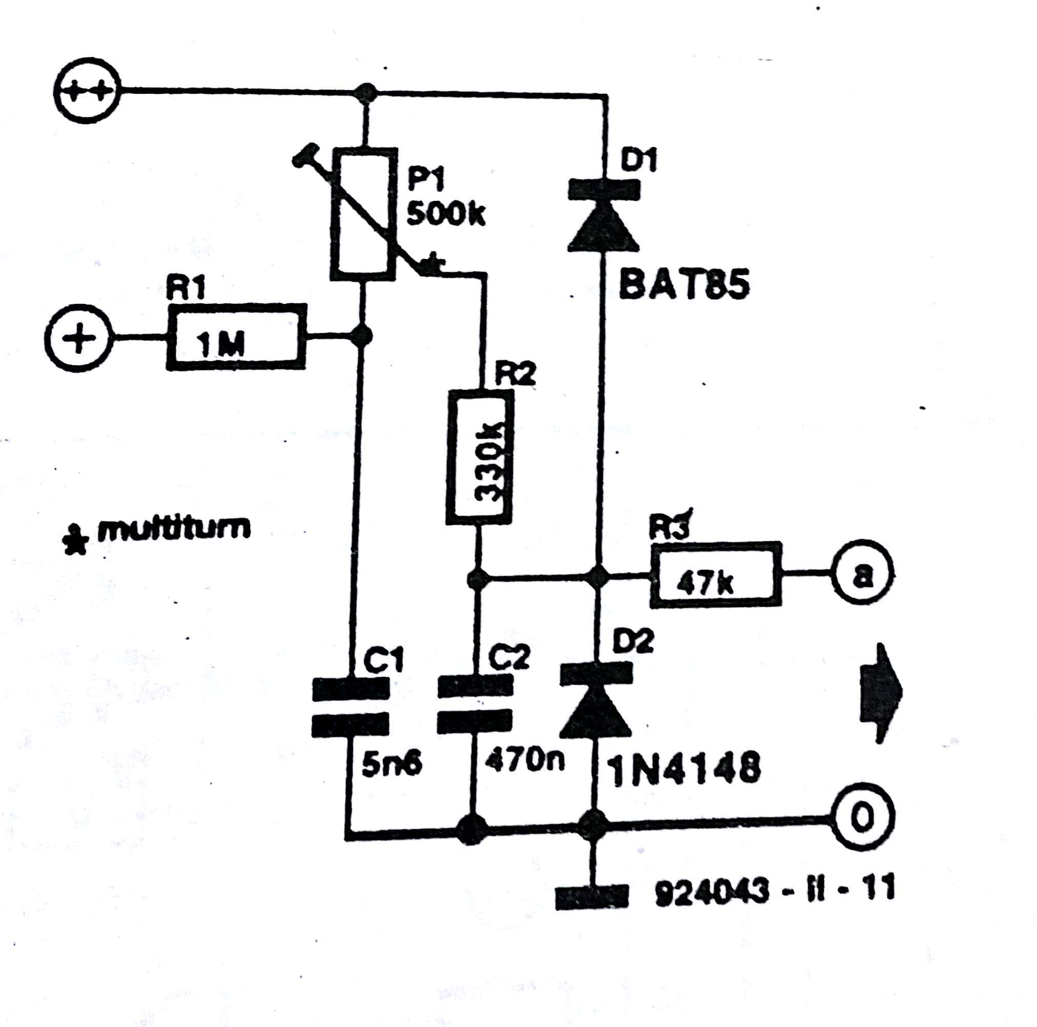 Low Battery Indicator Circuit Diagram 555timer Alternating Blinking Led Issue The In Fig 2 Raises Negative Voltage To Above Earth Level Note That Because Of Loading Its Output R6