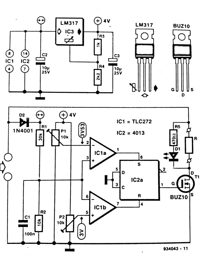 solar panel shunt regulator circuit diagram