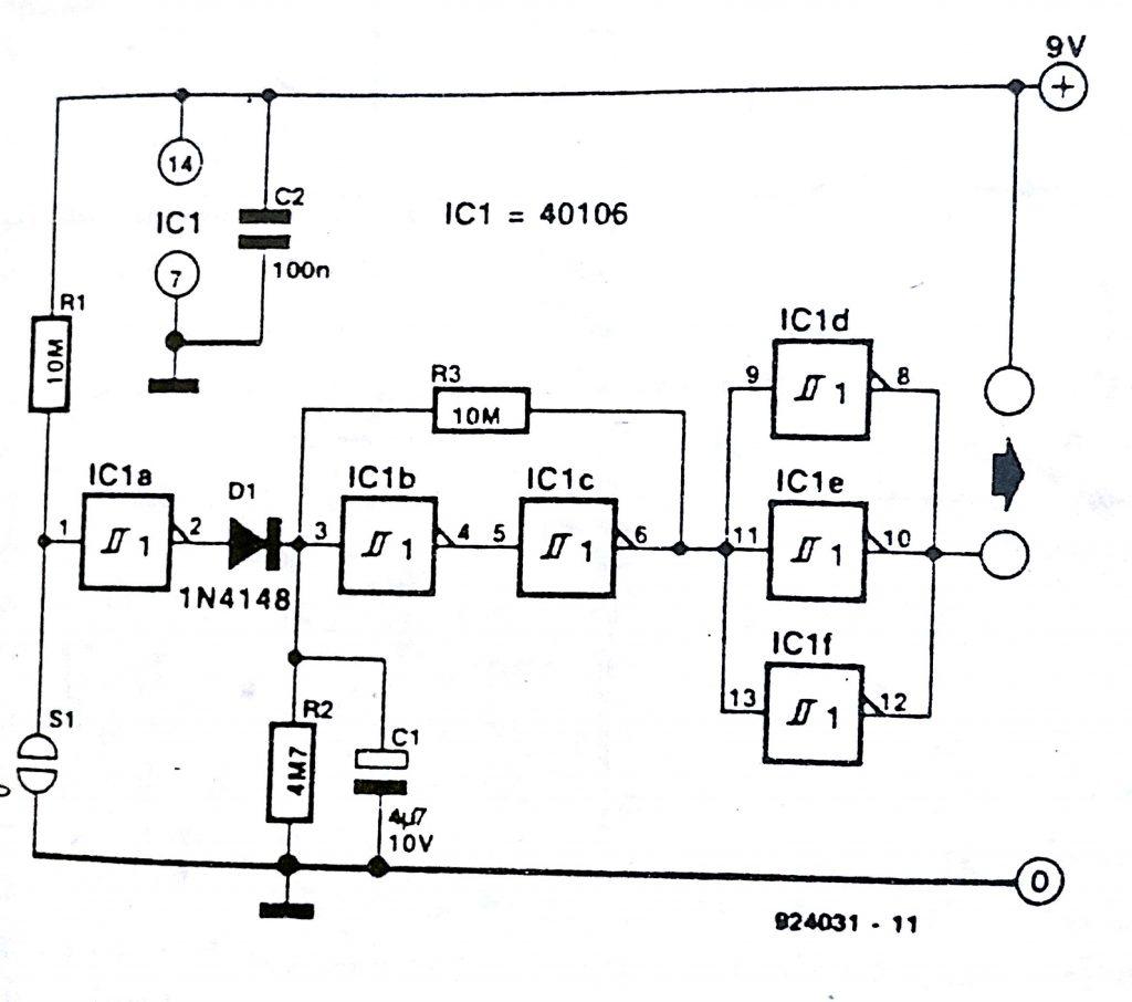 auto OFF controller