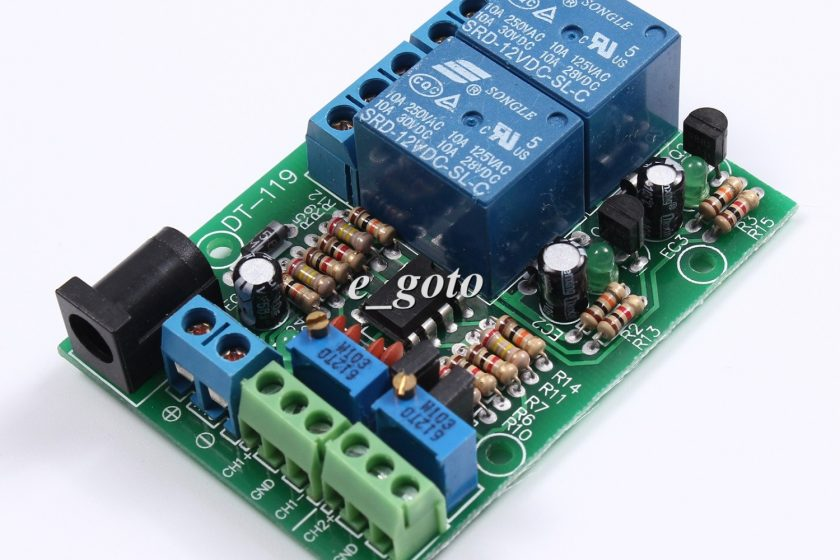 Comparator Made From An Operational Amplifier