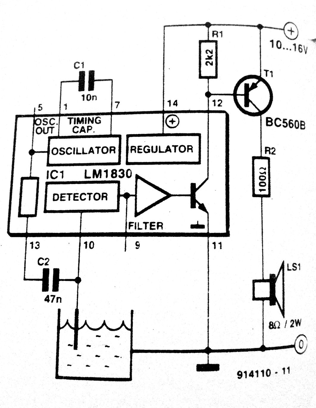 Audible Level Indicator How To Make A Sixtiesstyle 40w Audio Amplifier Circuit Diagram