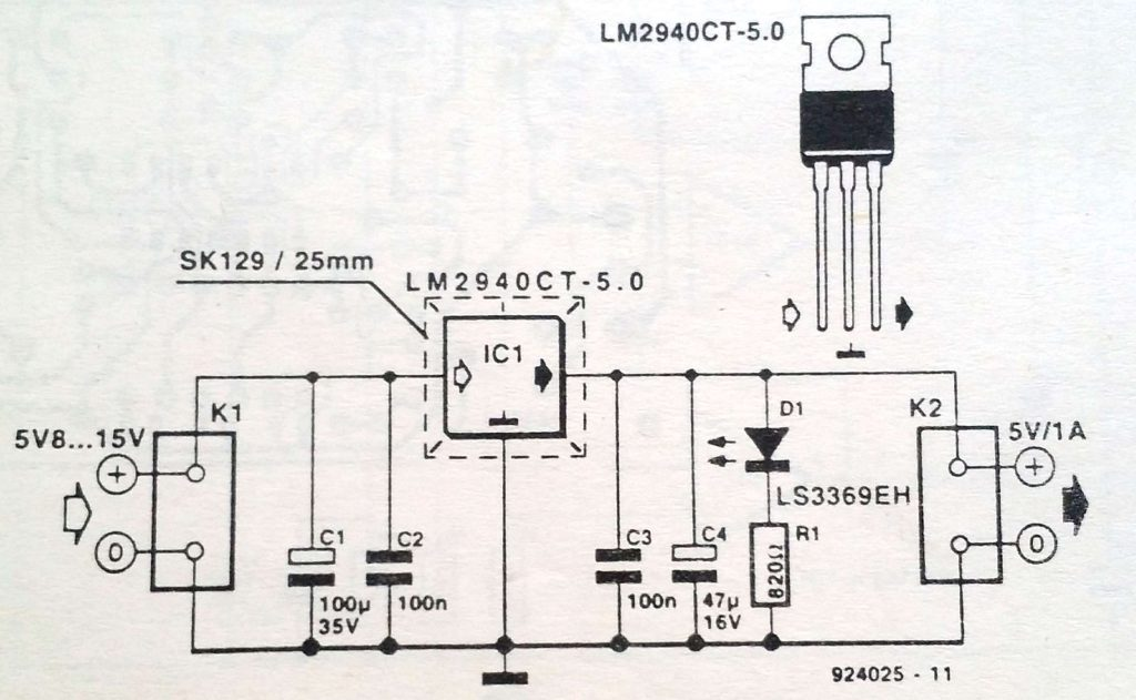 Low-drop regulator