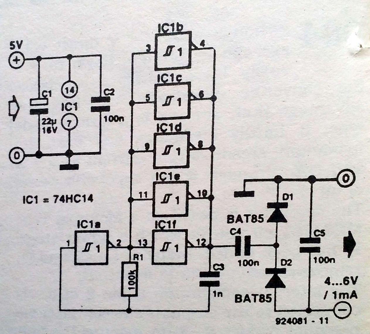Voltage Inverter Parallel Circuit