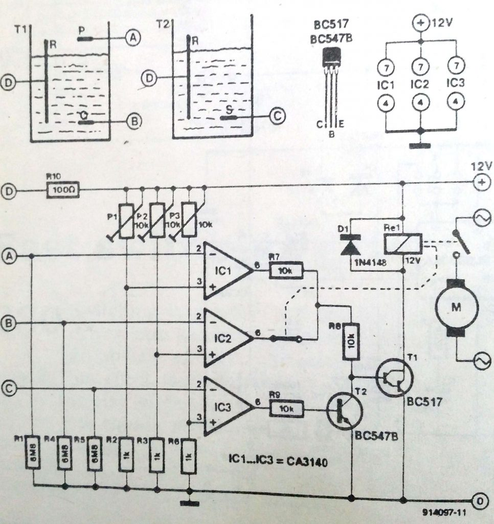 Water level control with Circuit-Diagramz.com