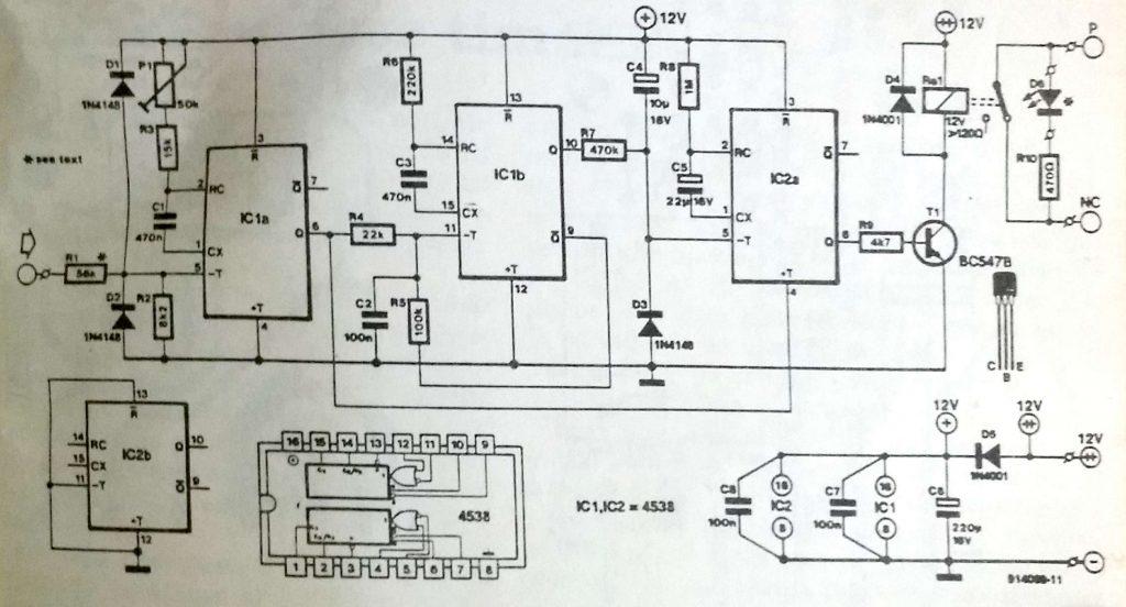 Discrete frequency-voltage converter