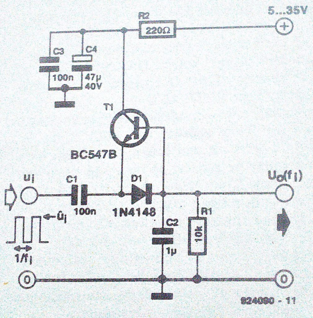 frequency-voltage converter