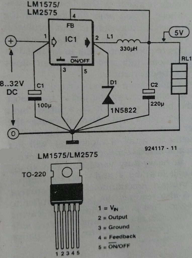 switched 5 v supply
