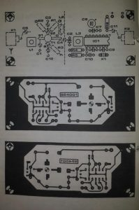 CB-to-SW down converter Schematic diagram