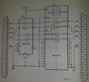 80C552 microprocessor system