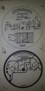 Field-strength meter Schematic diagram