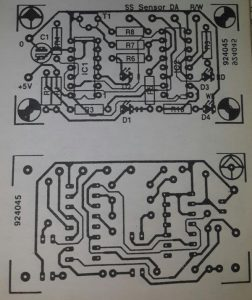 Floppy-side chooser Schematic diagram