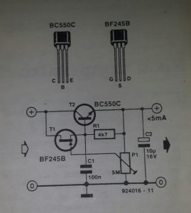 Low-drop regulator 1 Schematic diagram