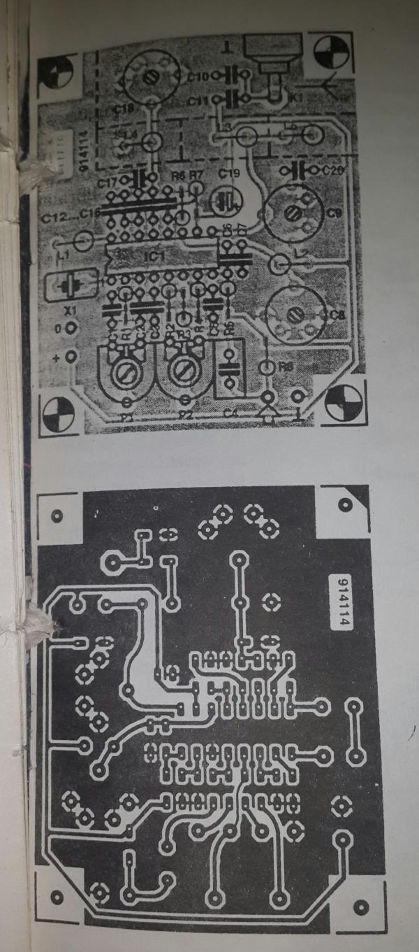 Transmitter Mw Circuit Low Power Nbfm Schematic Diagram