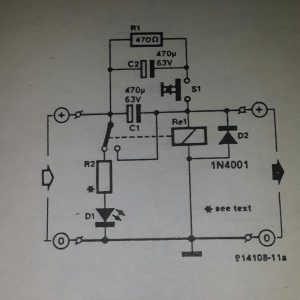 Relay fuse Schematic diagram