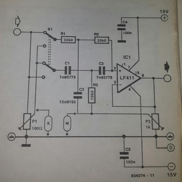 How To Troubleshoot This Bandstop Filter Circuit Electrical