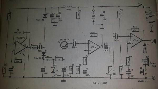 Rf Pulse Noise Generator Schematic