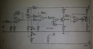 Voltage-controlled current source Schematic diagram