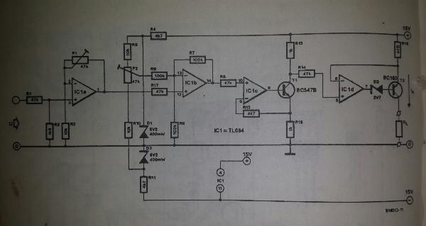 Light Activated Switch Circuit Diagram