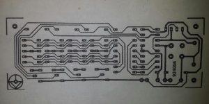 4-digit counter module Schematic diagram