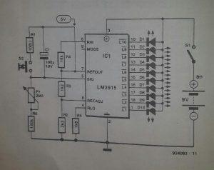 Basic timer II Schematic diagram