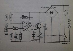 Halogen light switch