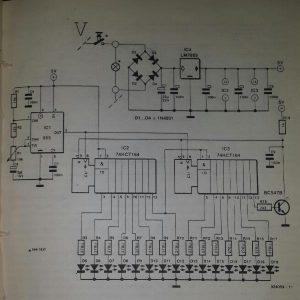 Extra brake light Schematic diagram