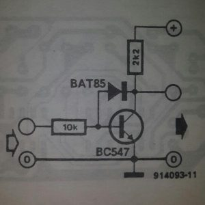 Fast switching gate Schematic diagram