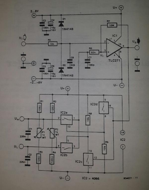 For This Control Circuit Presented In This Schematic The Frequencies