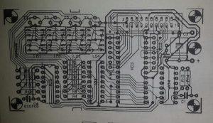 General purpose display decoder Schematic diagram