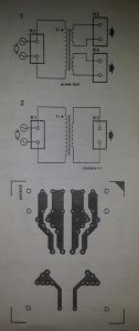 General transformer PCB Schematic diagram