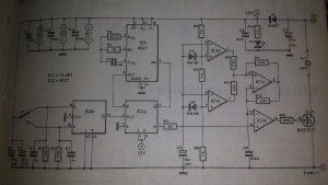 Halogen light switch Schematic diagram