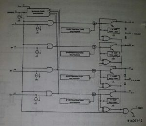 Intelligent power switch Schematic diagram