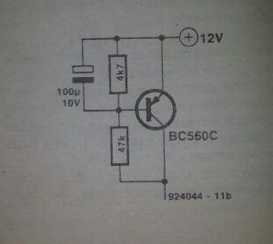 Revolution counter for diesel engines Schematic diagram