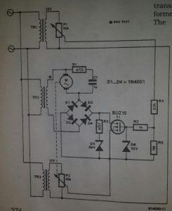 Sequential control Schematic diagram