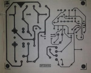 Slave mains on-off control Schematic diagram