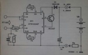 Low-drop a.c. switch for 12 V halogen lights