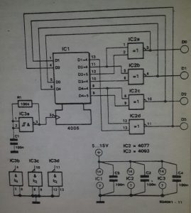 4-bit random generator