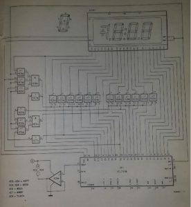 Zero suppressor for IC17106 Schematic diagram