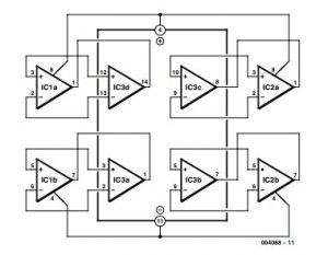 2 × Dual=1 × Quad Schematic Diagram