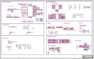 ESP-WROVER-KIT V1or ESP32 DevKitJ V1 Schematic Diagram