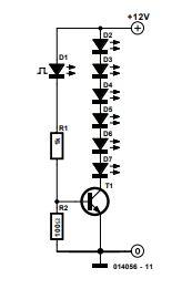 Fairy Lights Schematic Diagram