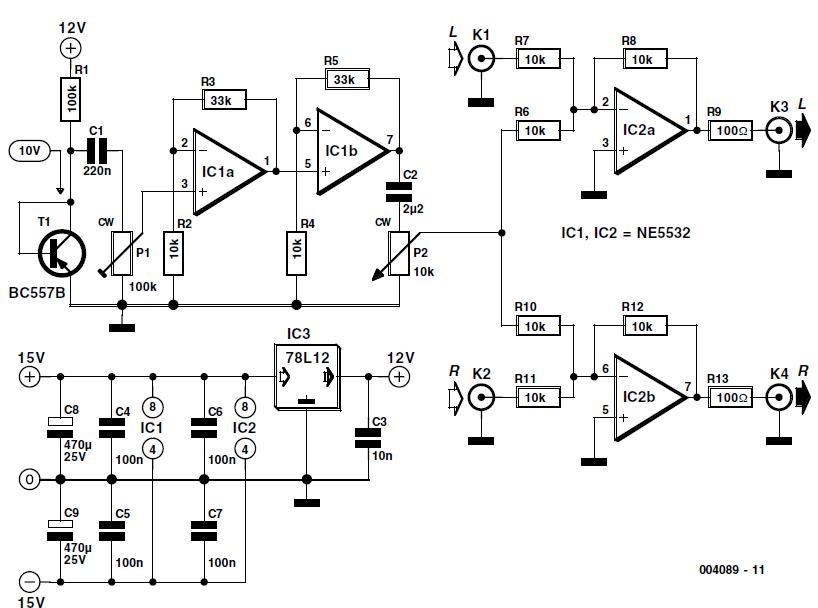 Noise Injector Schematic Circuit Diagram