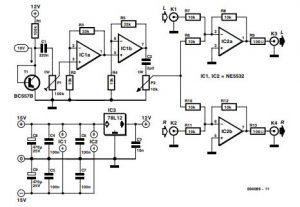 Noise Injector Schematic Diagram